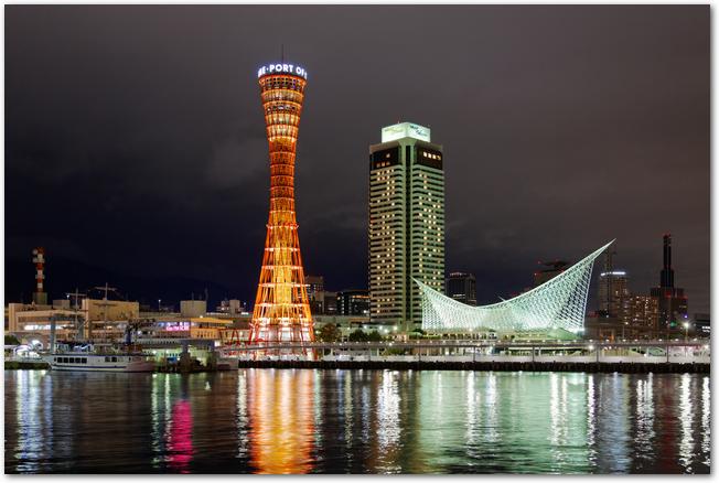 美しい神戸の夜景