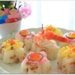 ひな祭り ちらし寿司レシピ人気なのは?ちらし寿司ケーキは?牛乳パックで?