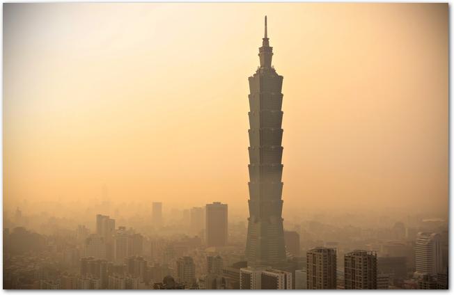 PM2.5に覆われた中国